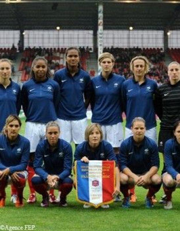 Mondial de foot féminin: les Bleues remportent leur 1e match