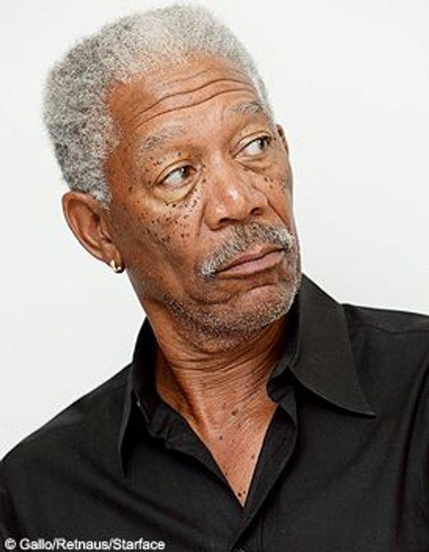 Morgan Freeman blessé dans un accident de la route