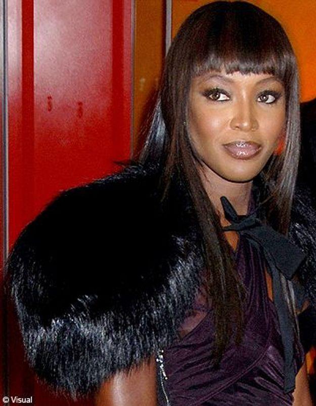 Naomi Campbell échappe à la police