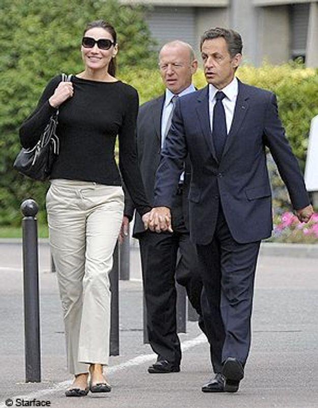 Nicolas Sarkozy en vacances chez Carla Bruni