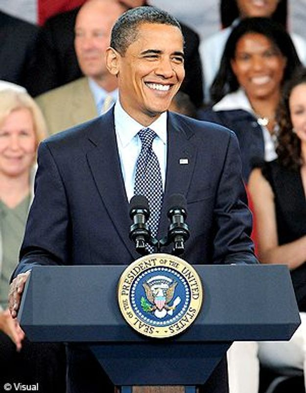 Obama : Happy birthday Mister President !