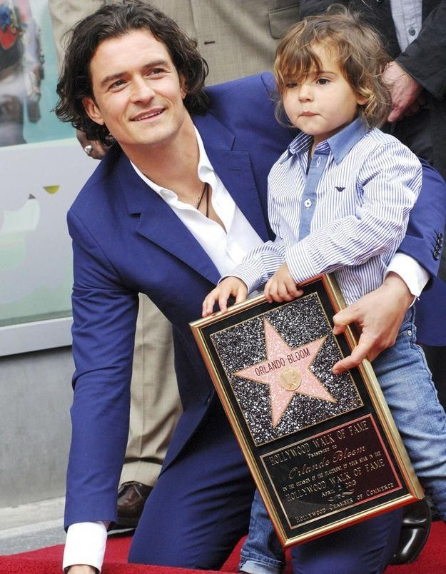Orlando Bloom, immortalisé sur Hollywood Boulevard