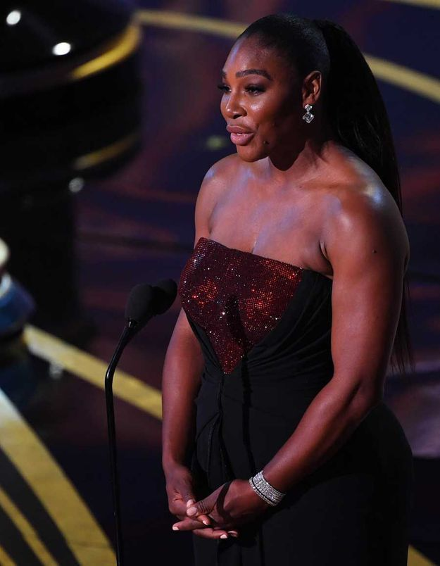 Oscars : le message codé du discours de Serena Williams à Meghan Markle