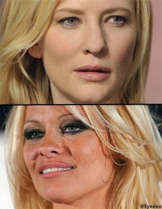 Pamela Anderson en colère contre Cate Blanchett