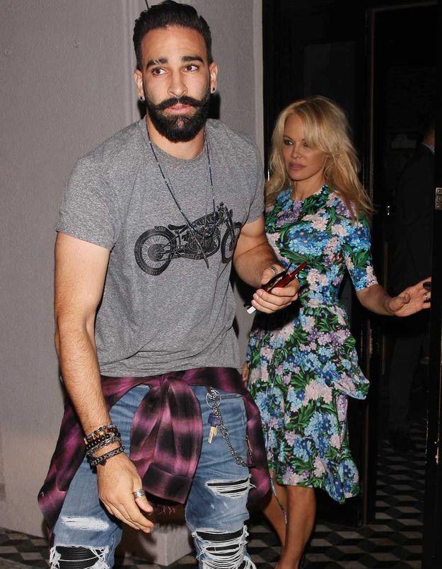 Pamela Anderson séparée d'Adil Rami : «Je ne sais pas où on va»