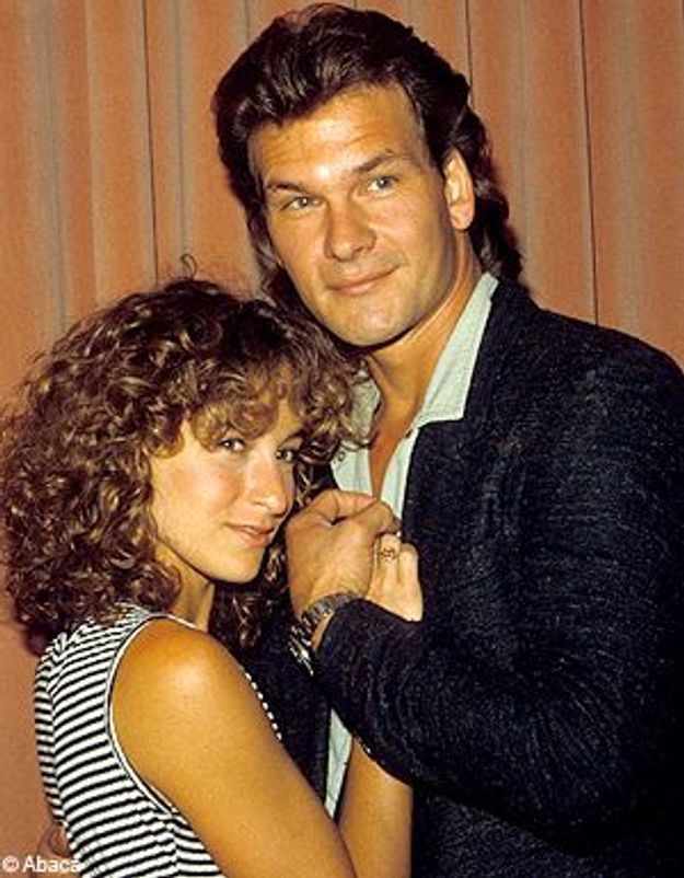 dirty dancing patrick swayze and jennifer grey relationship with