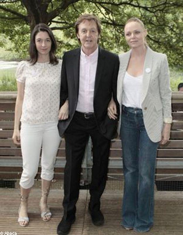 """Paul et Stella McCartney : """"Pas de viande le lundi !"""""""