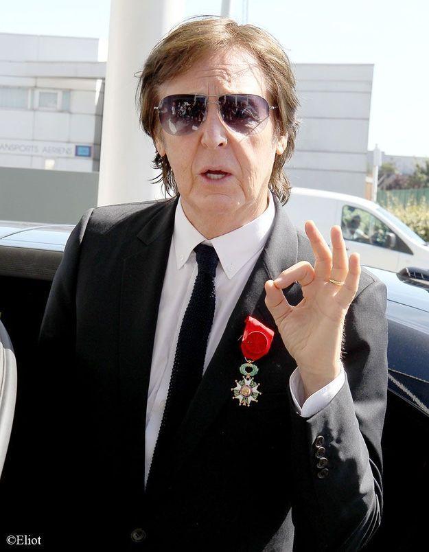 Paul McCartney décoré de la Légion d'honneur