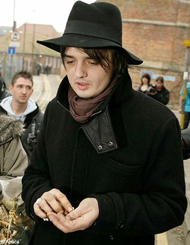Pete Doherty inculpé pour possession de cocaïne