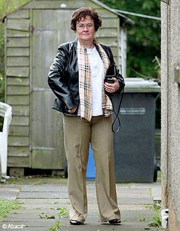 Photo : nouveau look pour Susan Boyle !