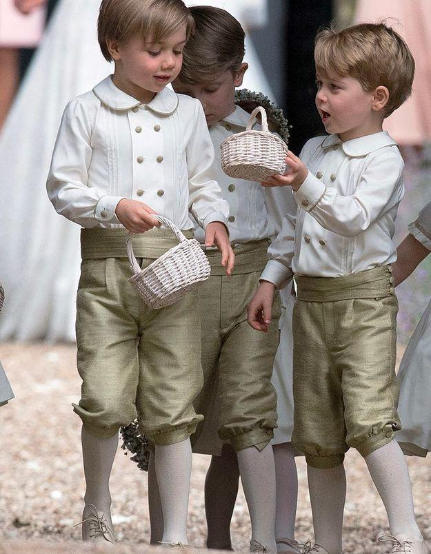 Au mariage de Pippa Middleton