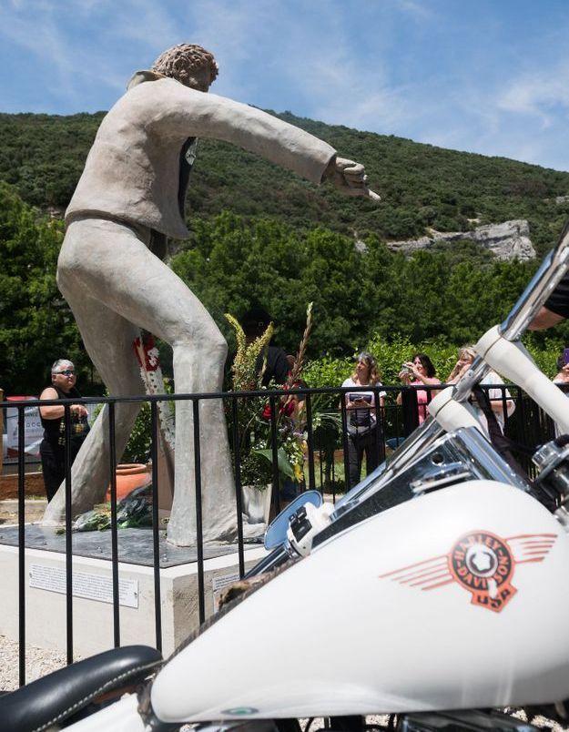 Les bikers sont venus en moto pour l'occasion