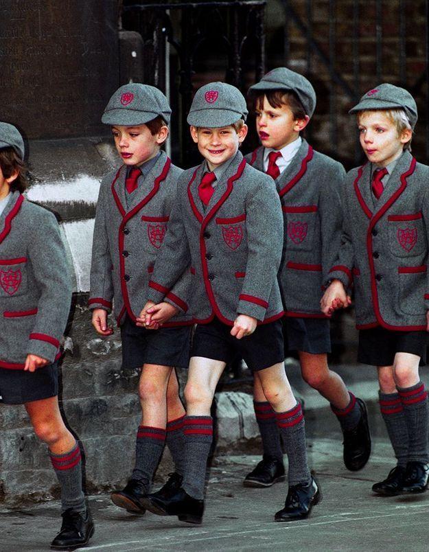 Le petit écolier Harry