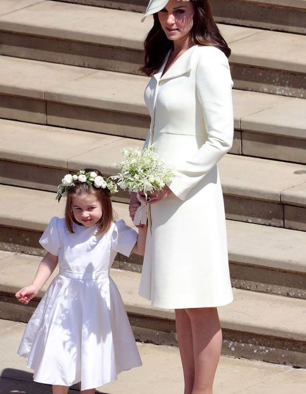 Kate Middleton, en robe jaune Clare Waight-Keller