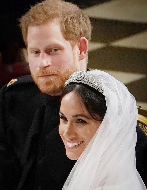 PHOTOS : le premier baiser du couple formé par Harry et Meghan met le monde en émoi