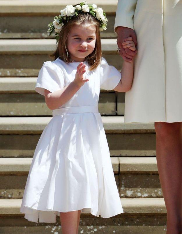 Comme à chacune de ses sorties, la princesse Charlotte a fait le show