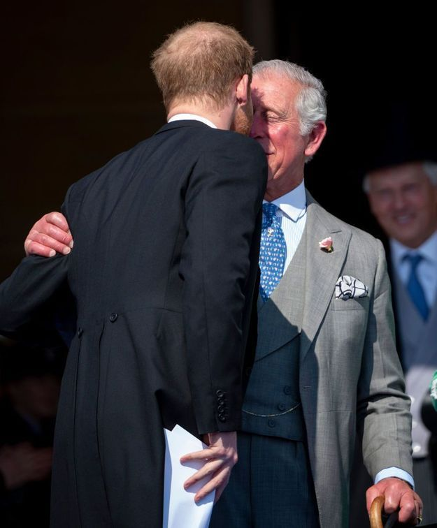 Le prince Charles, si fier de son fils Harry