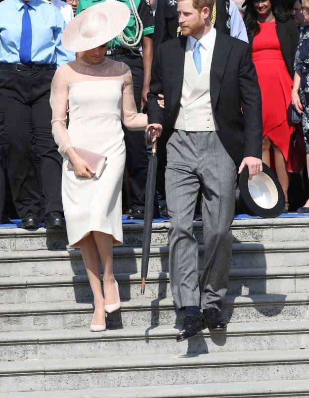 Meghan Markle et le prince Harry, nouveaux duchesse et duc de Sussex, très classe