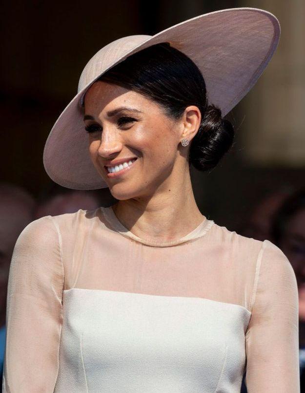 Meghan Markle, jeune mariée très en beauté pour sa première sortie officielle