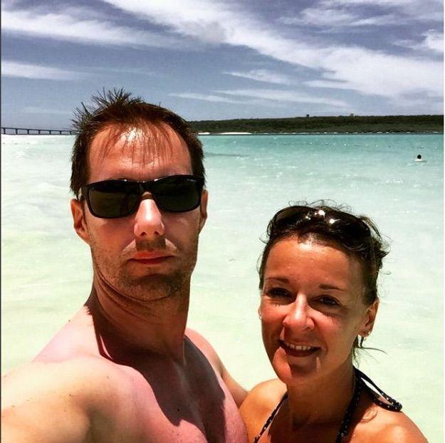 Photos - Thomas Pesquet : très complice avec sa femme Anne Mottet