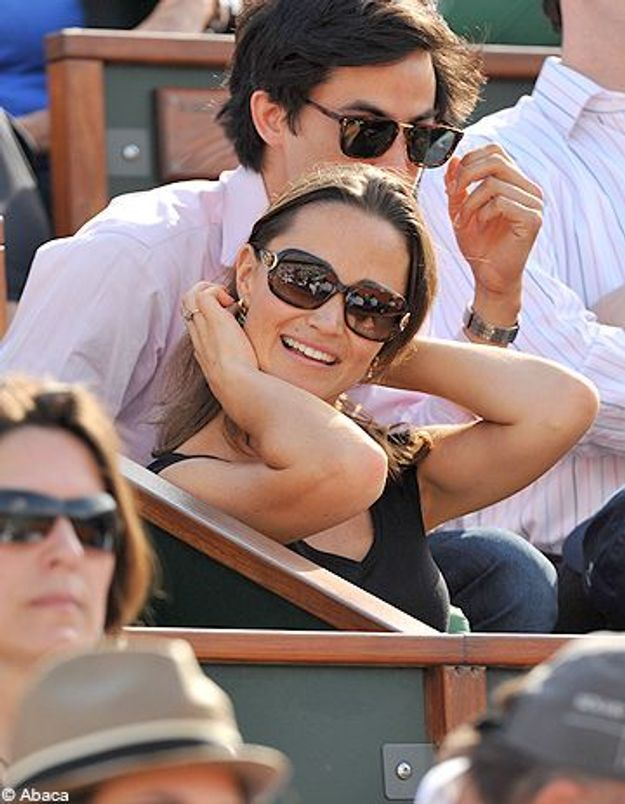 Pippa Middleton : incognito à Roland Garros