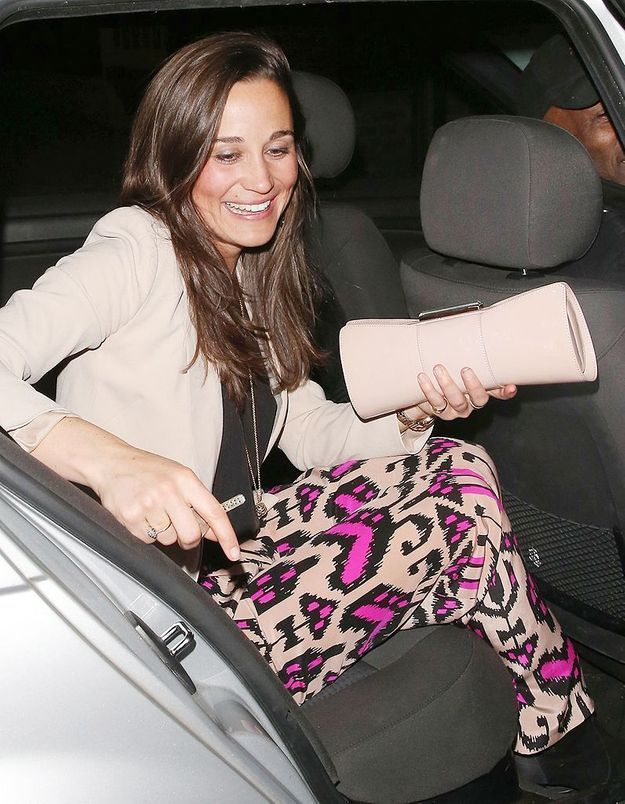 Pippa Middleton, recalée d'une soirée à Londres
