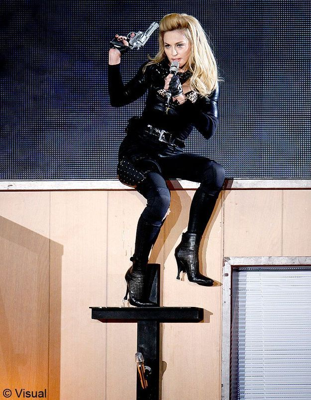 Pologne : des jeunes catholiques s'opposent au concert de Madonna
