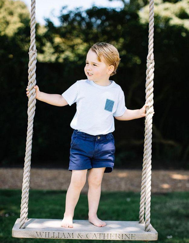 Des nouvelles photos du prince George pour ses 3 ans !