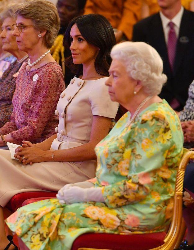 La reine et Meghan