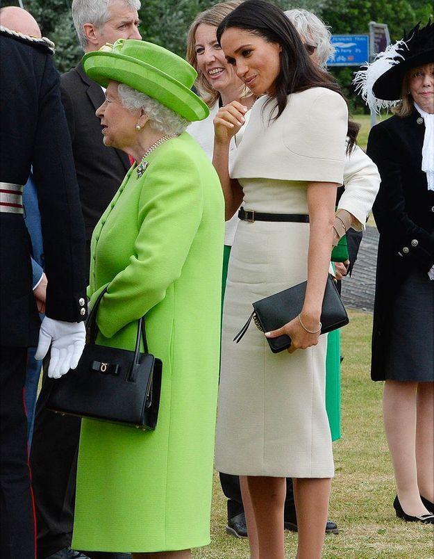 Meghan s'inspire de la reine