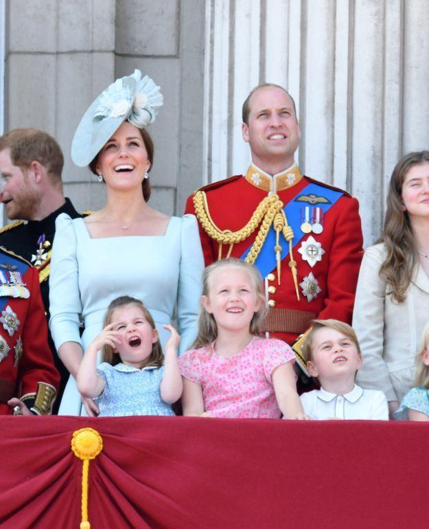 Comme d'habitude, la princesse Charlotte a fait le show