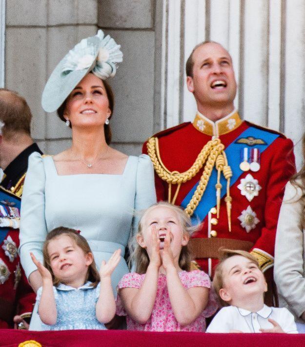 Kate Middleton et le prince William étaient eux aussi hypnotisés par le spectacle