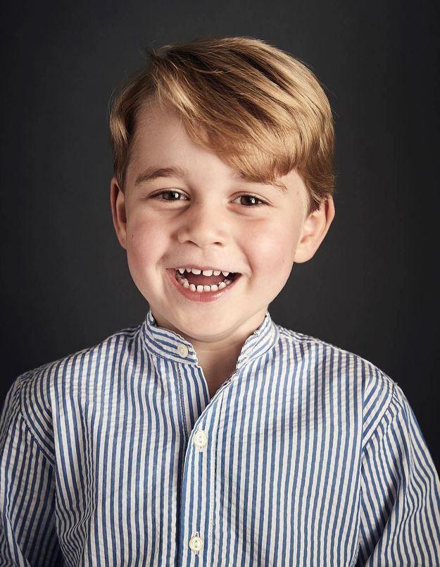 Prince George : un nouveau portrait officiel pour ses 4 ans