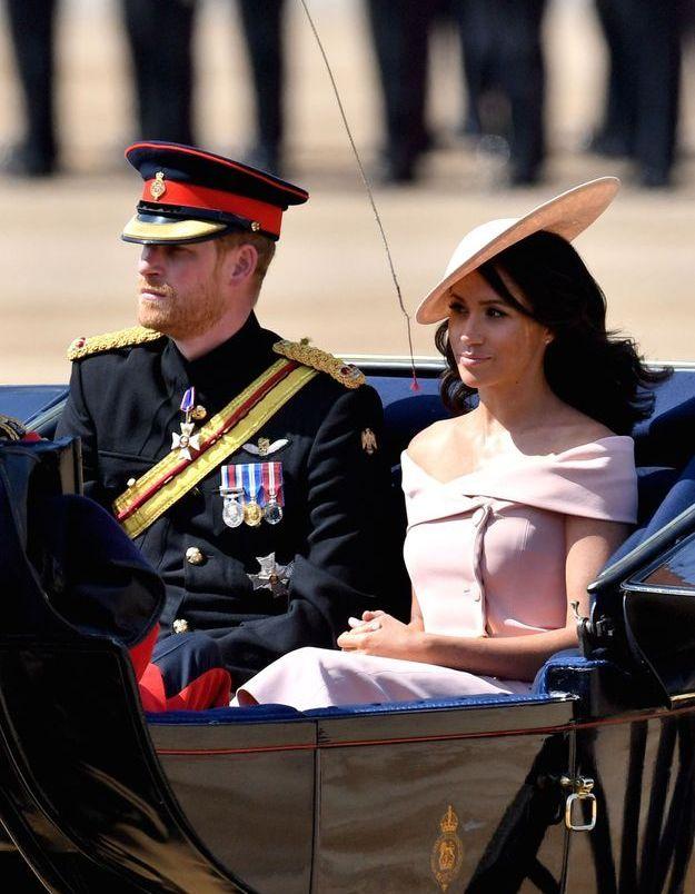 Le prince Harry avait, lui, opté pour l'uniforme militaire