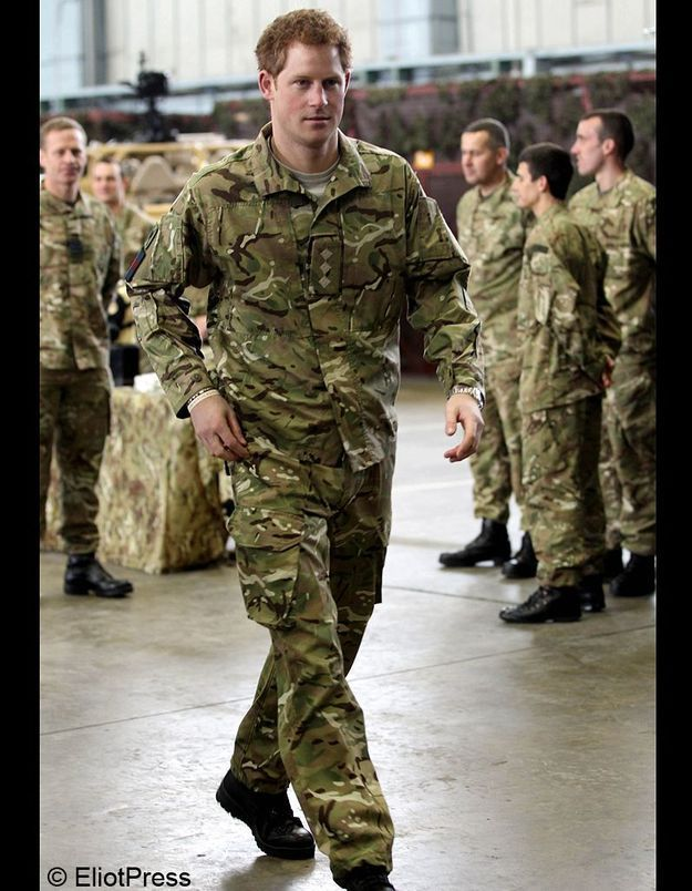 Le plus engagé : le prince Harry