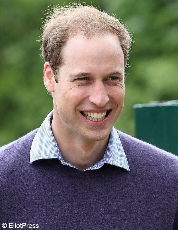 Le plus Lady Di : le prince William