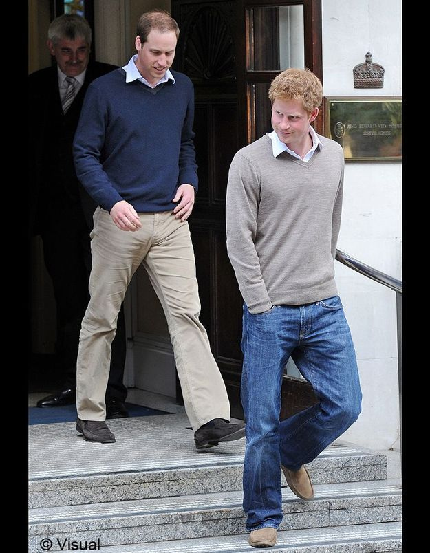 Le plus séduisant : harry et william