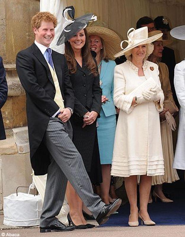Avec la reine