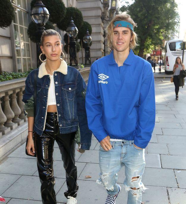 Hailey Baldwin et Justin Bieber complices, découvrent la capitale britannique