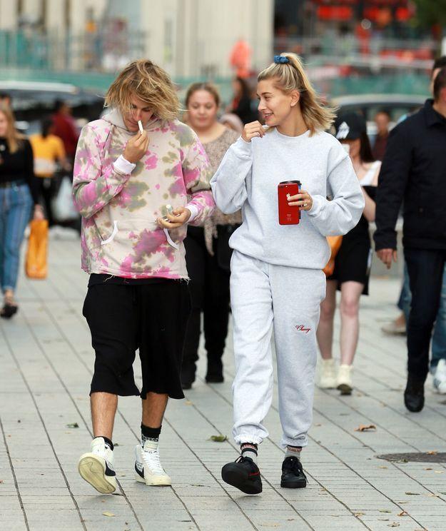 Le mannequin et le chanteur sont à Londres pour la Fashion Week