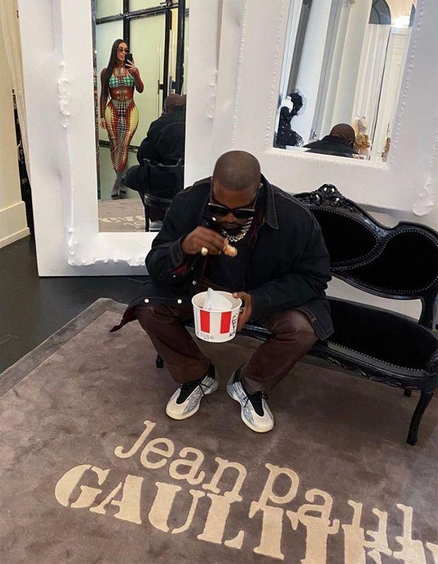 Quand Kim Kardashian et Kanye West vont au KFC de Strasbourg-Saint-Denis