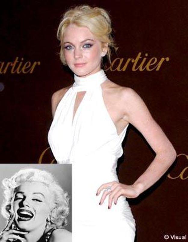 Quand Lindsay Lohan se compare à Marilyn Monroe...
