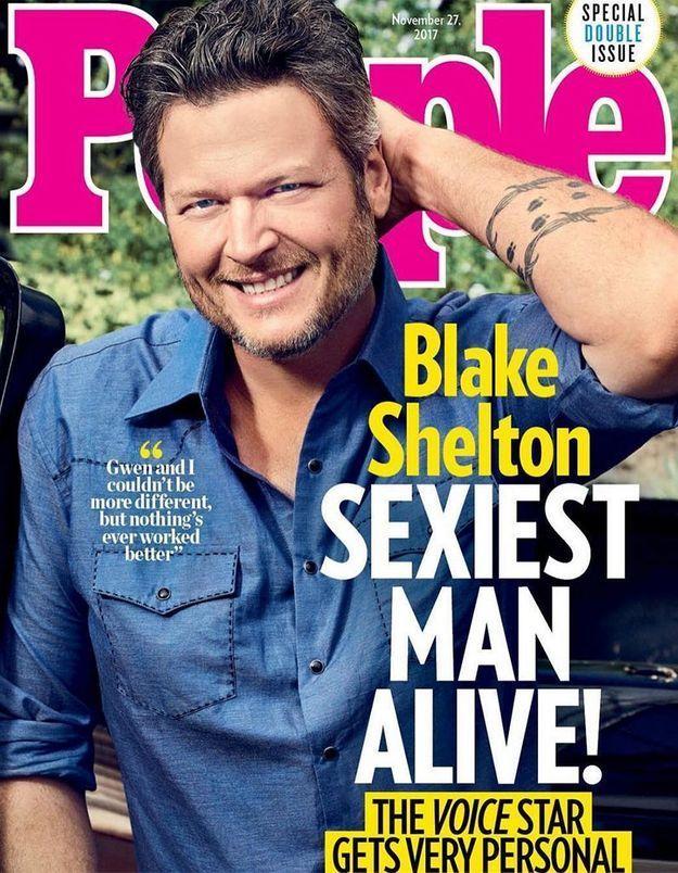 Qui a été élu homme le plus sexy au monde ?