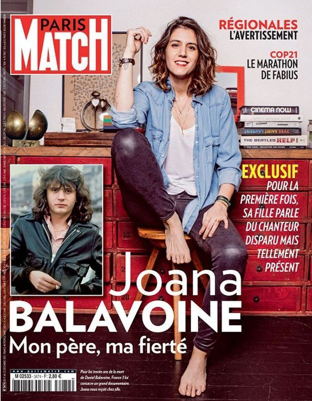 Qui est Joana Balavoine, la fille de Daniel ?