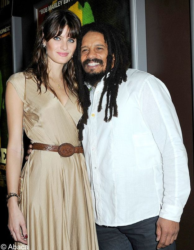 Isabeli Fontana et Rohan Marley