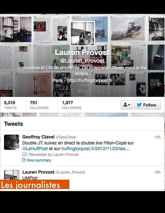 Les Journalistes Lauren Provost