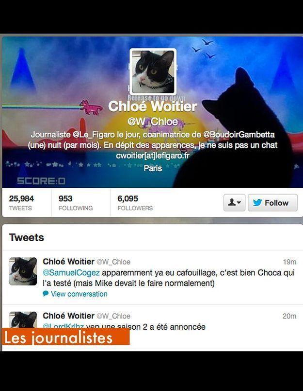 Les Journalistes W Chloe