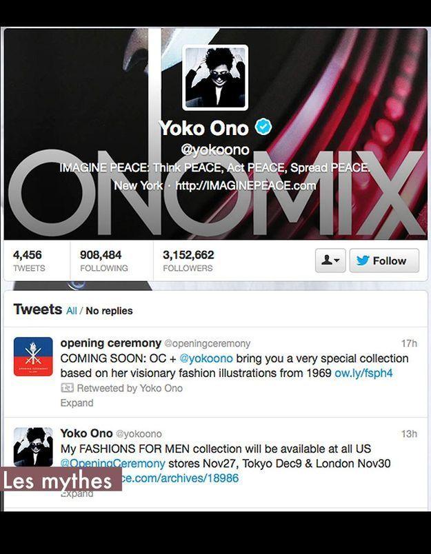 Les Mythes Yoko Ono