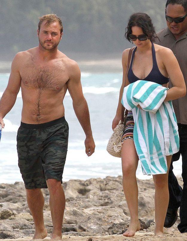 Blaine et Jennifer Lawrence