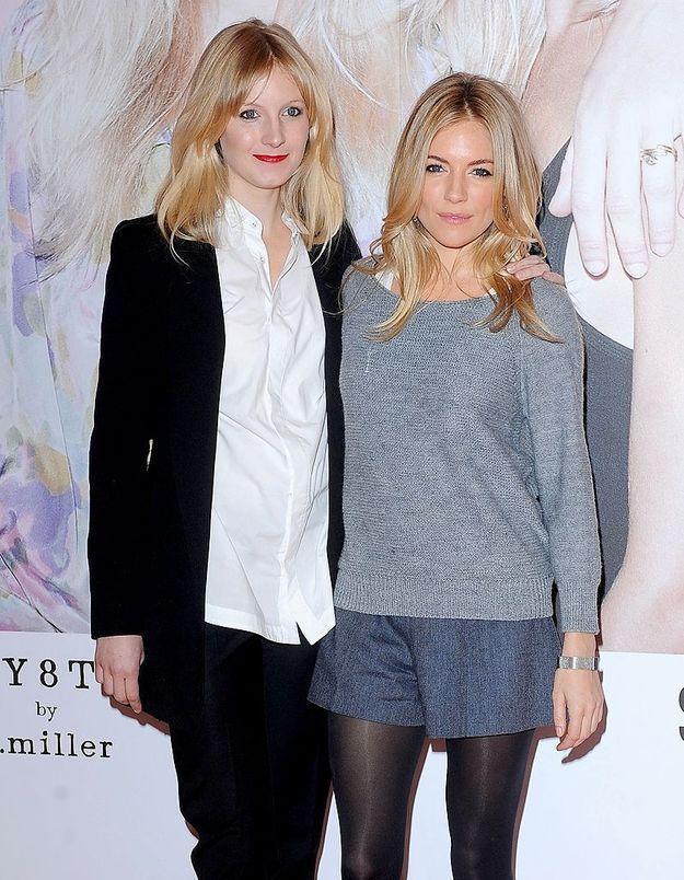 Savannah et Sienna Miller